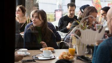 raňajky festivalových hostí