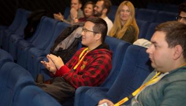 uvedenie študentských filmov VŠMU
