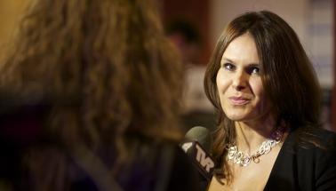 Bibiana Ondrejková, moderátorka večera