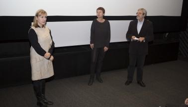 uvedenie filmu Sibírsky denník/The Chronicles of Melanie / producentka Julietta Sichel