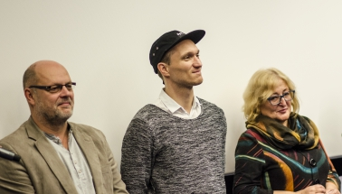 Delegácia k filmu Domáci péče
