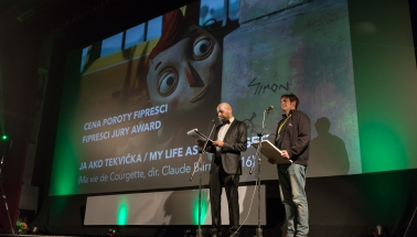 cena FIPRESCI poroty, film Ja ako Tekvička (r.Claude Barras)