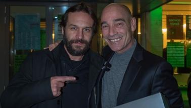 Kamil Mikulčík a Jean-Marc Barr